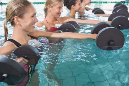 ACQUAFITNESS (Aquagym Totalbody, Soft, Wlaking, Bike, Jump, Circuit, Flap, Fluidi Pilates)